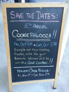 cookiepalooza!
