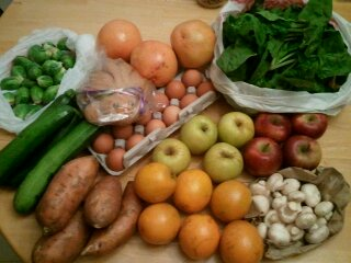 spring CSA, week 5