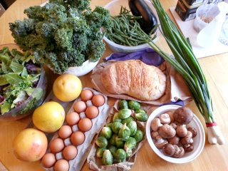 spring CSA, week 9