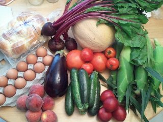 summer CSA week 8