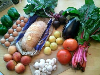 summer CSA, week 6