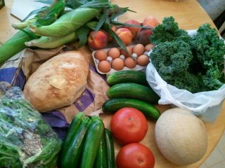 summer CSA, week 7