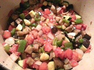 ratatouille in the pot