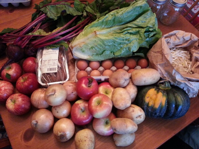summer/fall CSA, week 18