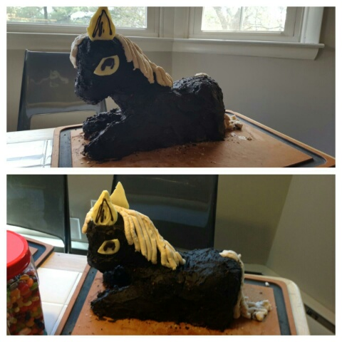 horse cake for a Little Princess