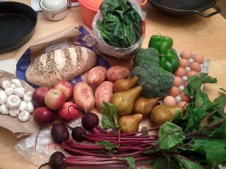 summer CSA, week 19